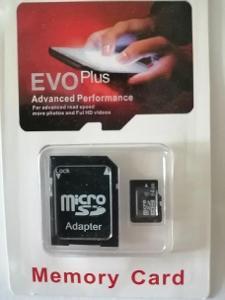 micro sd karta 64gb s adapterem++Akce