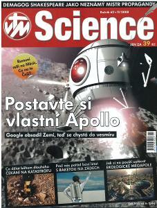 Časopis SCIENCE 11/2008