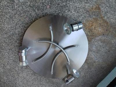 Zánovní nerezové stropní nebo nástěnné svítidlo 230V/55W