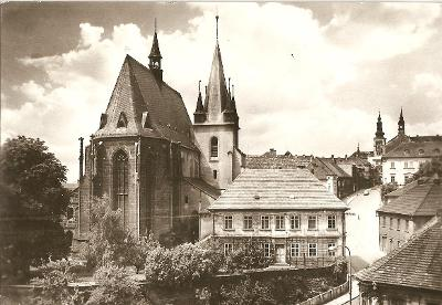 SLANÝ - kostel sv. Gottharda - Kladno