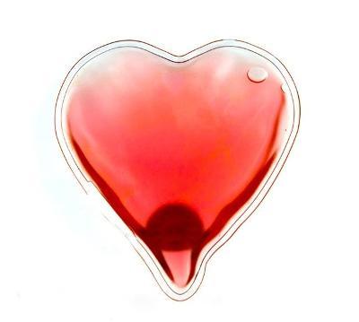 Ohřívač rukou i těla - srdce + dárek