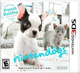 Hra Nintendogs + Cats na Nintendo 3DS