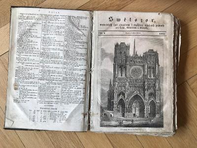 Časopis Světozor - ročník 1835 - vzácná rarita!!!