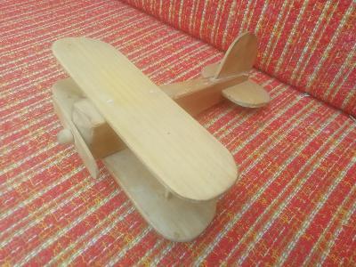 Staré dřevěné letadlo