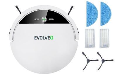 xxl mop, hepa filtr, boční kartáče pro vysavač Evolveo robotrex H5, H6