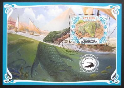 Gabon 2019 Krokodýli Mi# N/N
