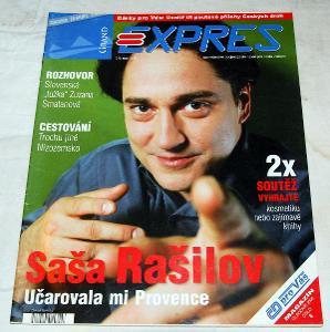 GRAND EXPRESS 6/2006 ČASOPIS VLAK ČD ŽELEZNICE KOLEJE LOKOMOTIVA