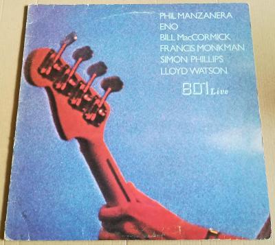 LP PHIL MANZANERA, ENO... - 801 LIVE/1976,UK.