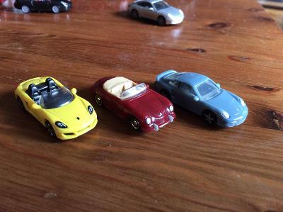 Porsche sada 3 ks
