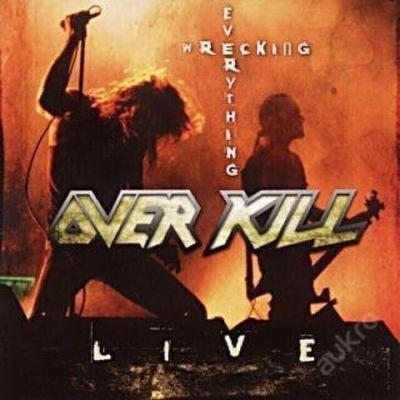 OVERKILL- Wrecking Everything (album USA) TOP STAV