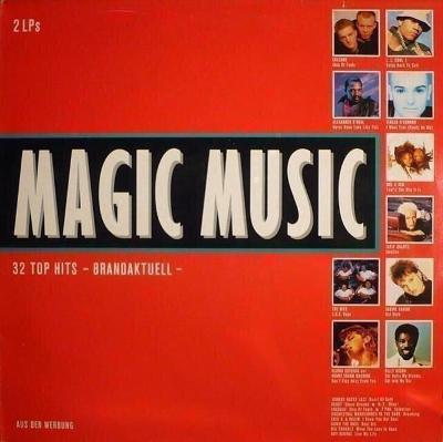 2LP- VA- Magic Music - 32 Top Hits (CBS Rec.´1988)