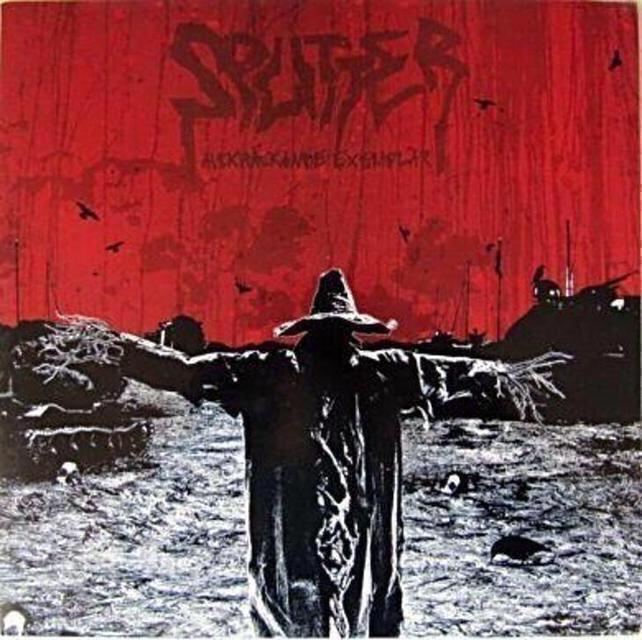 LP - SPLITTER - Avskräckande Exemplar (Red vinyl) - Hudba