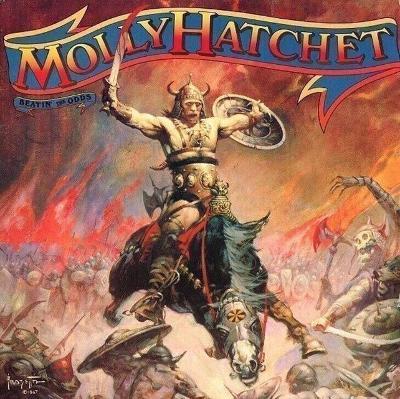 LP- MOLLY HATCHET -Beatin' The Odds (Holland´1980)