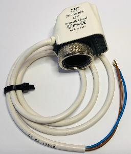 Elektrotermická hlavice topení