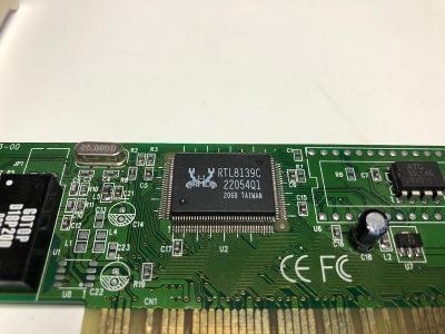 REALTEK RTL8139C síťová karta 10/100Mbps