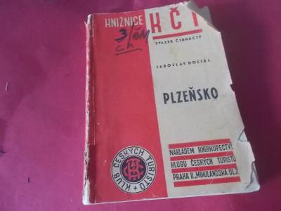 Starožitný průvodce Plzeňsko /J.Dostál (1947) Dobřany Nýřany Plasy ap.