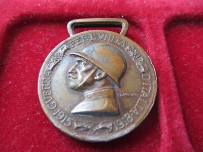 Italská pamětní medaile za italsko-rakouskou válku 1915 – 1918
