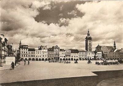 ČESKÉ BUDĚJOVICE - Žižkovo náměstí
