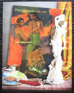 Guinea-Bissau 2016 Umění, Paul Gauguin Mi# Block 1480 Kat 12.50€ 1825