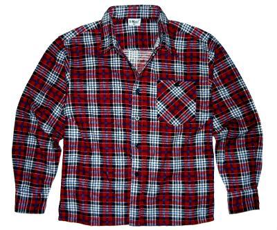 Chlapecká károvaná košile, flanel, vel. 9 - 10 let