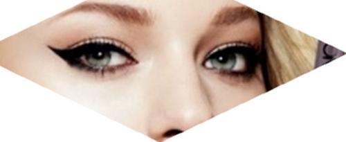 Voděodolné oční linky ve fixu The ONE černé /33670