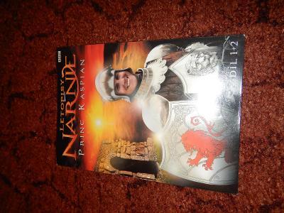 DVD Letopisy narnie Princ Kaspian Díl 1a2