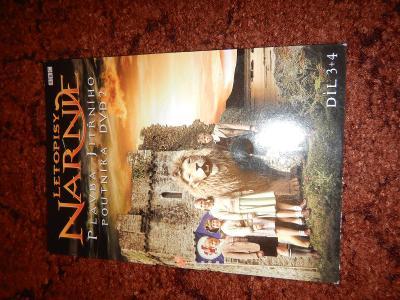 DVD Letopisy narnie Plavba jitřního poutníka DVD2 díl 3 a 4