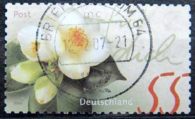 DEUTSCHLAND: MiNr.2416 Camellia 55c, Self-Adhesive 2004