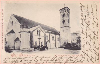 Bad Reichenhall * kostel, sakrální architektura * Německo * Z2531