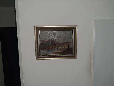 obraz olejomalba Tatry