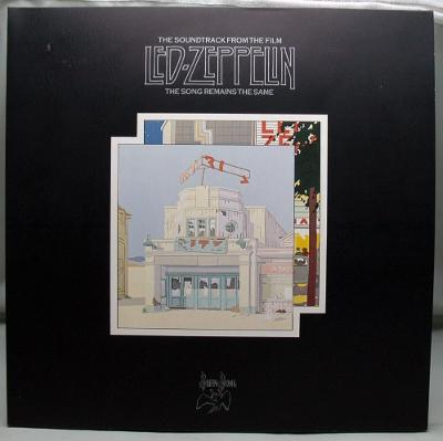 Led Zeppelin – The Song Remains The Same 1976 Germany Vinyl 2P