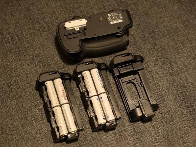 Battery Grip Nikon MB-D15 pro D7200 a D7100, jako nový, dvě sady bater