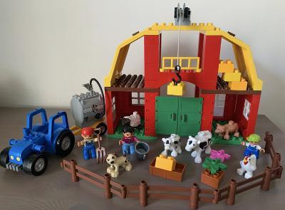 Lego Duplo 5649 - Velká farma , traktor , zvířata