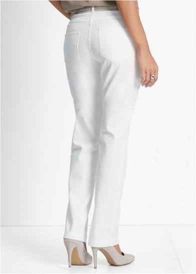 F718  STREČOVÉ RIFLE V. 48 *907010* - Dámské oblečení