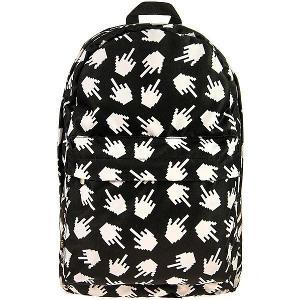 Módní Univerzální Batoh Backpack A4 Černy - Pixels