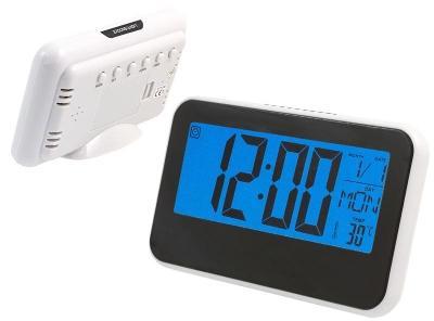 Stolní digitální hodiny LCD teploměr  + dárek