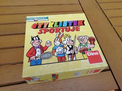 Čtyřlístek Sportuje karetní hra