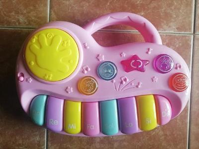 Dětské piano Doremi / funkční s bateriemi