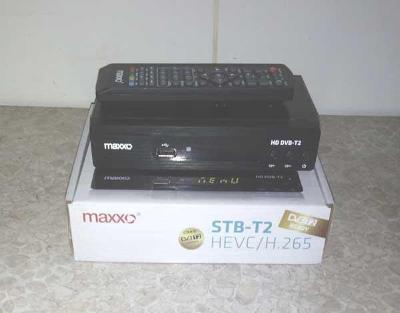 Přijímač DVB-T2 MAXXO