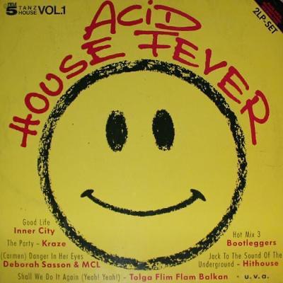 2LP- VA- ACID HOUSE FEVER´1988 (Inner City, Boy George, Hithouse...)