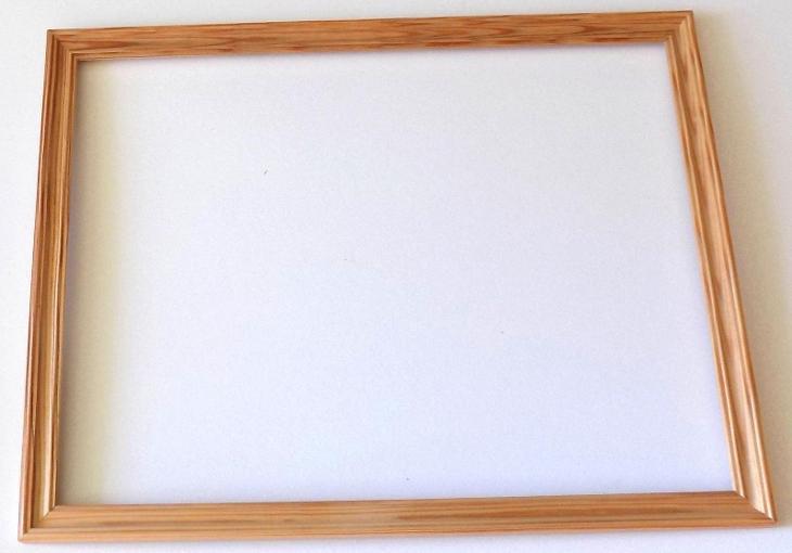 NOVÝ RÁM - vnitřní rozměr 30 x 40 cm  č. 237 - Umění