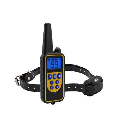 Výcvikový obojek pro psa psy Elektrický Elektronický Vodotěsný PatPet