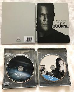 Blu-ray steelbook Jason Bourne (CZ dabing a titulky)