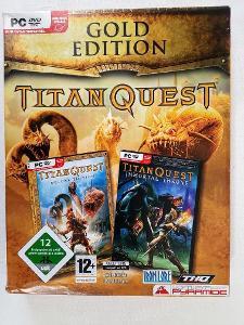 PC DVD rom - Titan Quest
