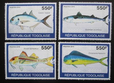 Togo 2010 Ryby Mi# 3414-17 Kat 8.50€ 1926