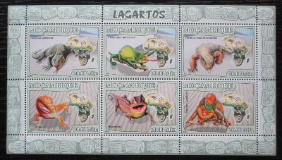 Mosambik 2007 Ještěři Mi# 2991-96 Kat 10€ 1935