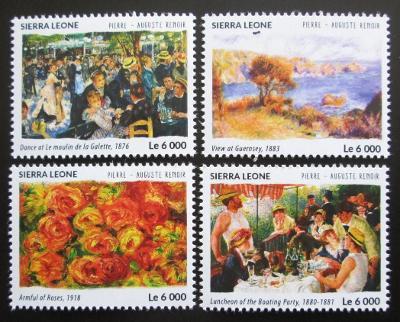 Sierra Leone 2015 Umění, Renoir Mi# 6444-47 Kat 11€ 1943