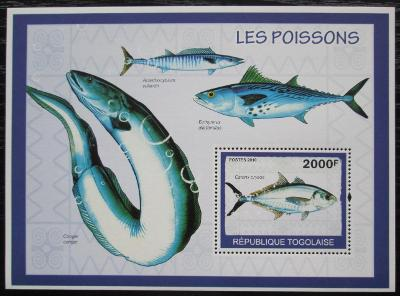 Togo 2010 Ryby Mi# Block 494 Kat 8€ 1244