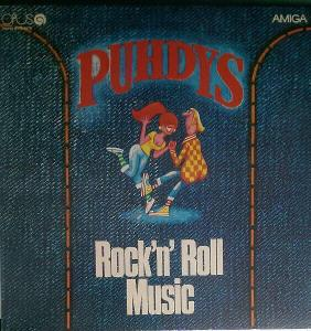 LP- PUHDYS - Rock'N'Roll Music (album)´1976 TOP STAV !!!