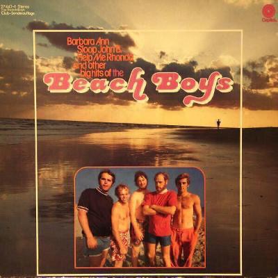 LP- THE BEACH BOYS -The Beach Boys (album) CLUB EDITION /EMI ELECTROLA
